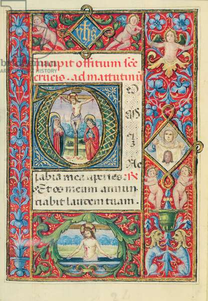 MS 84/71 The Mystery of the Redemption (vellum)