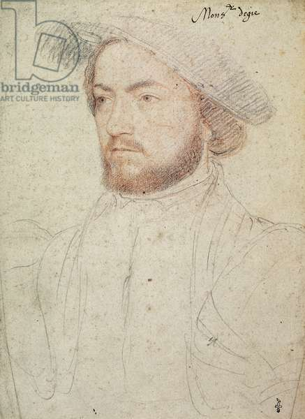 Francois de Rohan, seigneur de Gie (1515-60), c.1540 (pencil on paper)