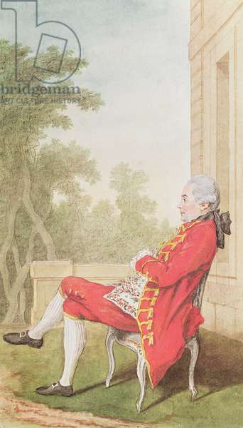 Marquis of Chaumont-Bernage, 1769 (pencil, w/c & gouache on paper)