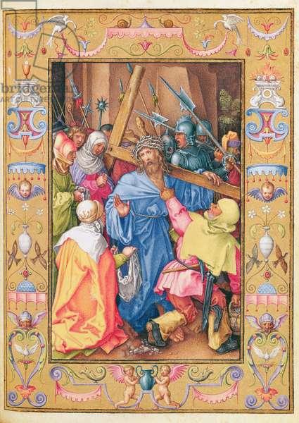 Ms 39/1601 St. Veronica, from 'Passio Domini Nostri Jesu Christi Secundum Joannem' (vellum)