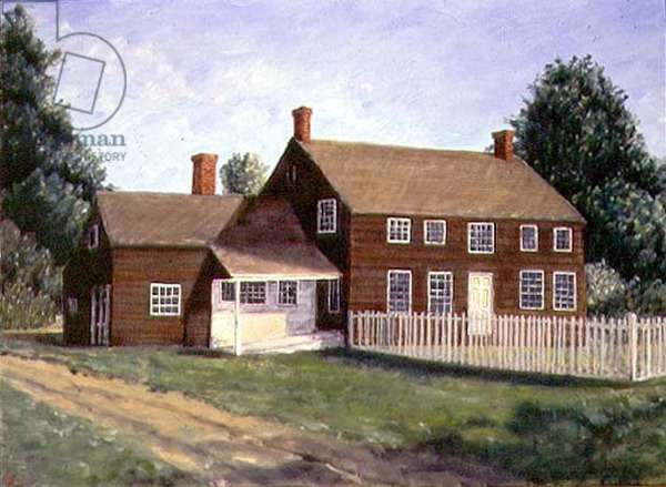 The Williams Farm, 1993 (oil on canvas)