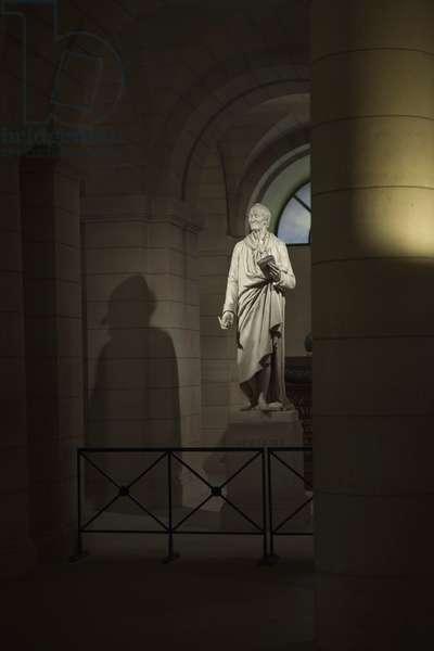 The Panthéon in Paris, France (Voltaire's Grave)
