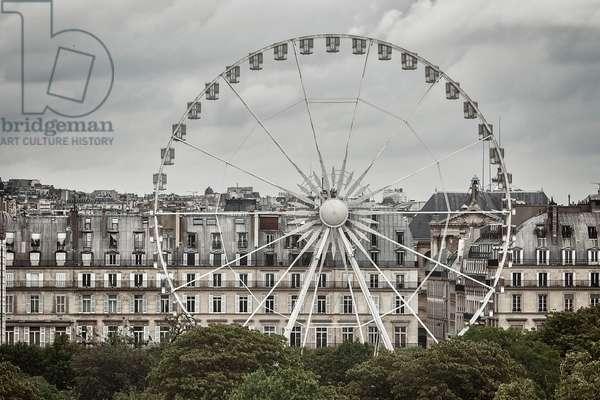 Paris, France, Above the Tuileries