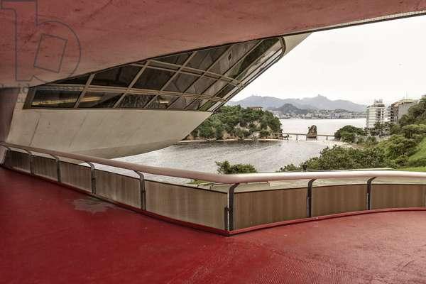 Niterói Contemporary Art Museum by Oscar Niemeyer