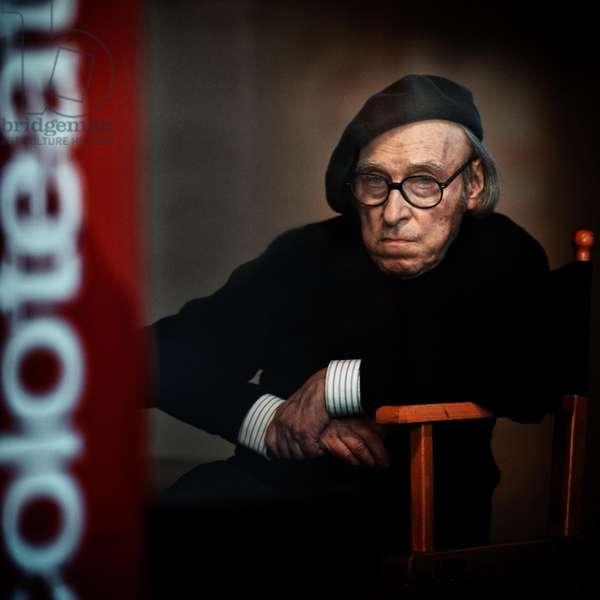 Guido Ceronetti, Milan, 2013 (photo)