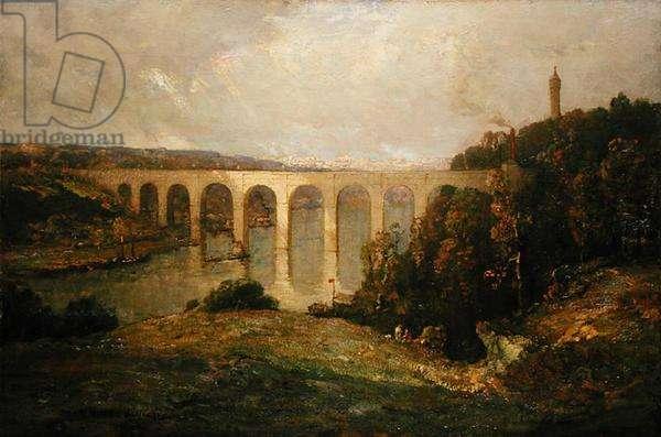 High Bridge (oil on canvas)