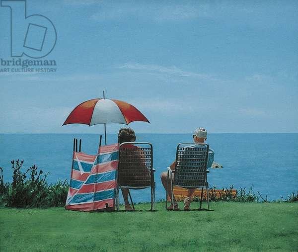 Sunshade (oil on canvas)