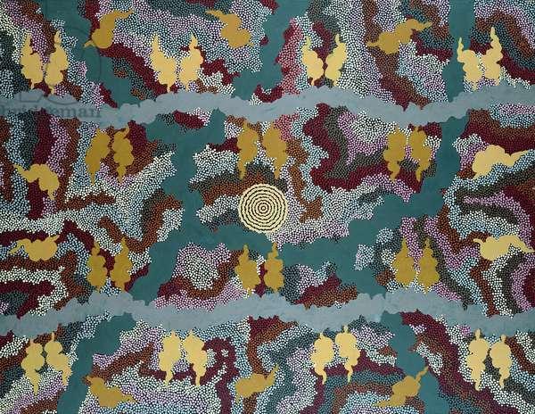 Corkwood Dreaming, 1992 (acrylic)