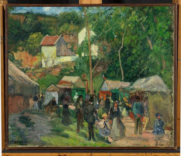 Festival at L'Hermitage, 1876-78 (oil on canvas)