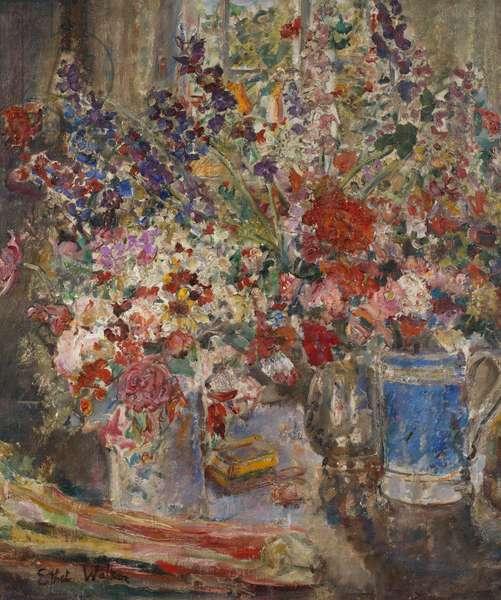 Flower Piece No. 4, c.1928-29 (oil on canvas)