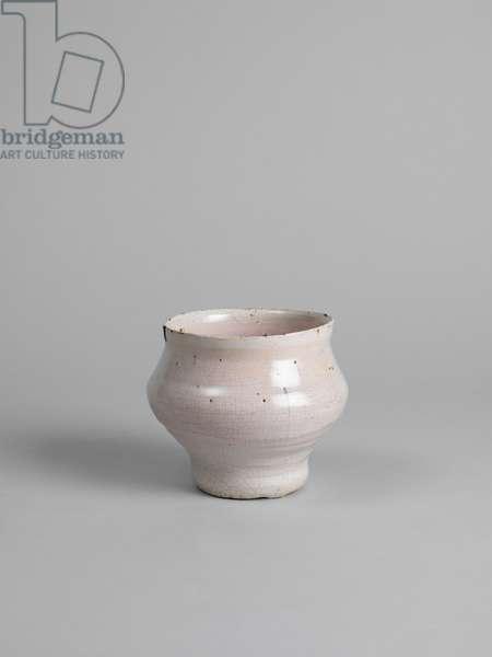 White tin-glazed bowl, 1914-15 (tin-glazed earthenware) [see 5948443]