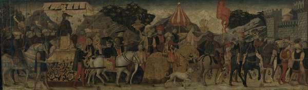 A Triumph, c.1450 (tempera on panel)