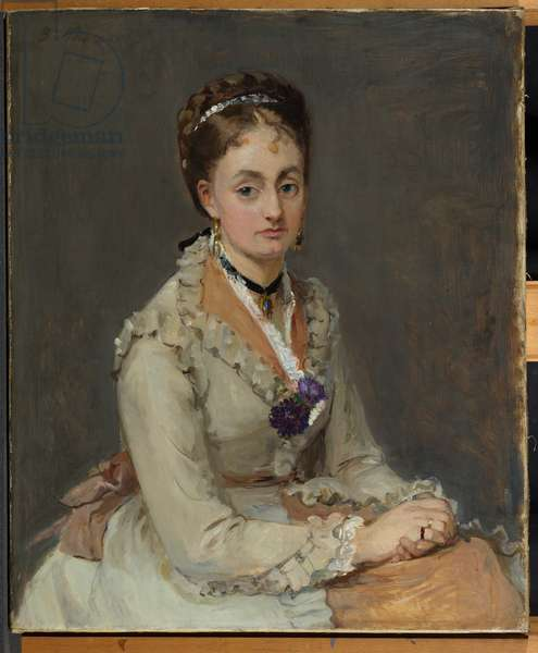 Portrait of a Woman, 1872-75 (oil on canvas)