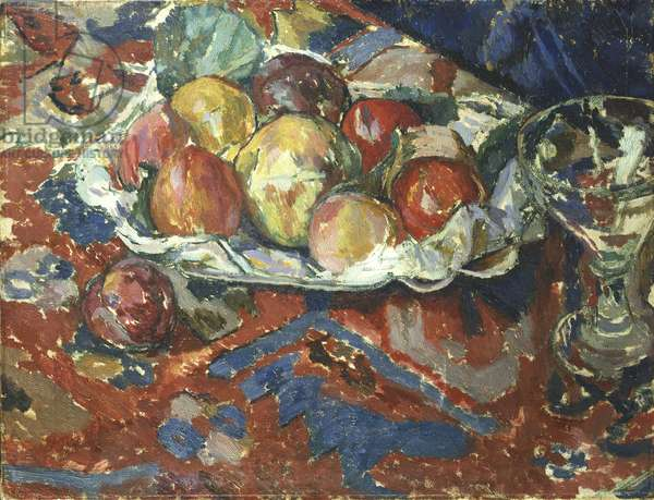 Still Life with Peaches, c.1910 (oil on canvas)