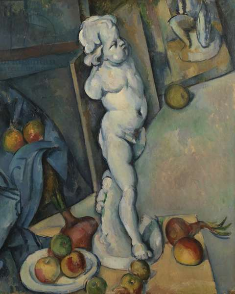Still life with Plaster Cupid, c.1894 (oil on paper)