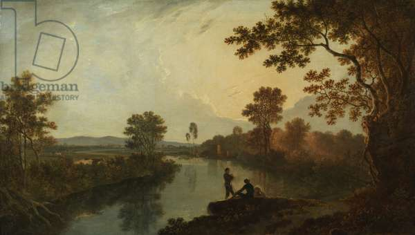 River Dee, c.1760 (oil on canvas)