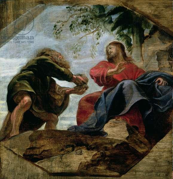 The Temptation of Christ, 1620 (oil on panel)