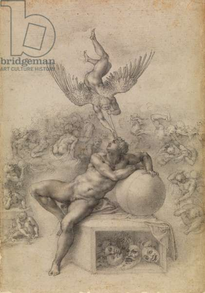 The Dream of Human Life, c.1533 (graphite on paper)