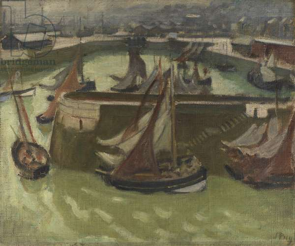 Harfleur, c.1920 (oil on canvas)