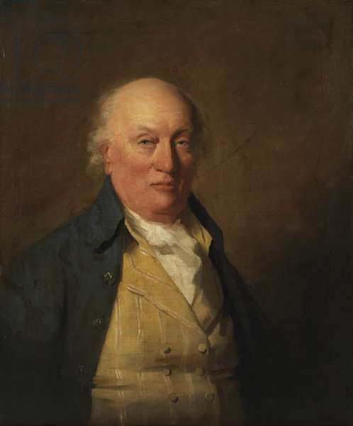Portrait of George Malcolm, c.1778 (oil on canvas)