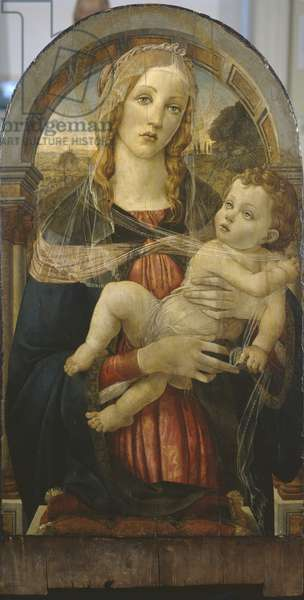Virgin and Child, forgery in the manner of Sandro Botticelli (c.1444/5–1510), c.1920-29 (tempera on panel)