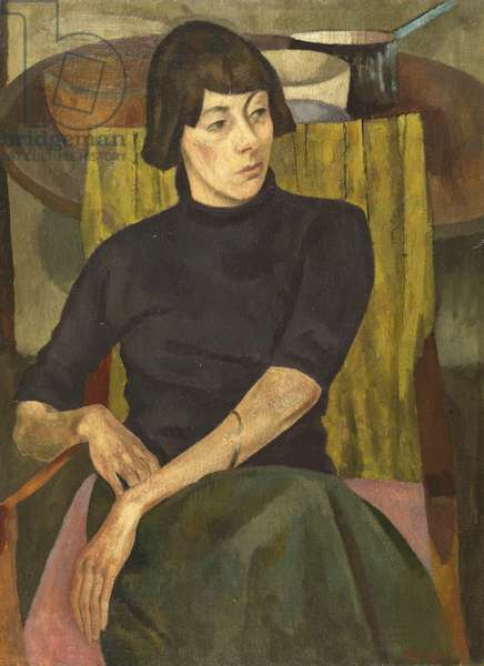 Portrait of Nina Hamnett, 1917 (oil on canvas)