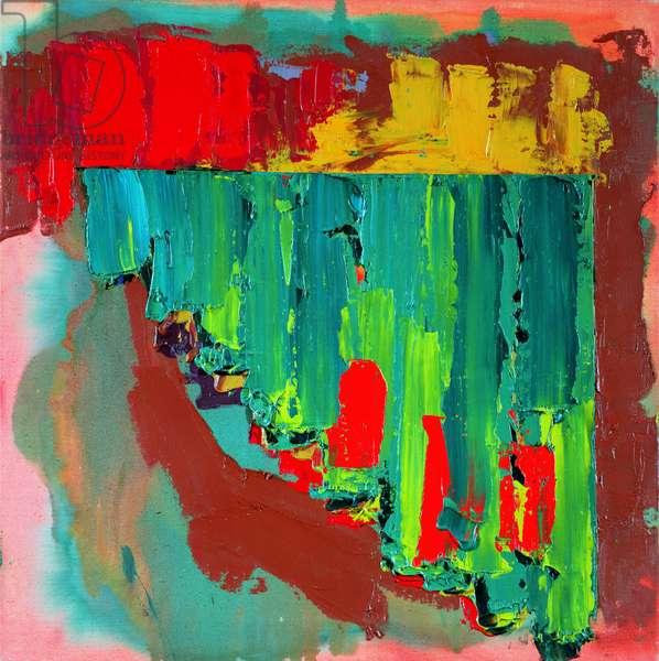 Downland, 1978 (acrylic on canvas)
