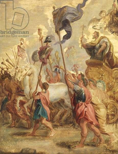 Triumph of Scipio Africanus, 1634 (oil on panel)