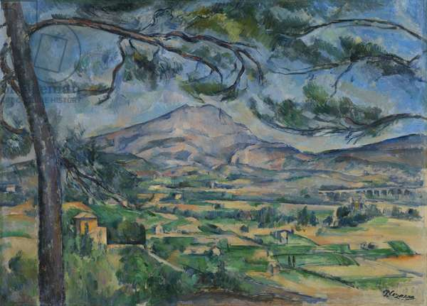 Montagne Sainte-Victoire with Large Pine, c.1887 (oil on canvas)