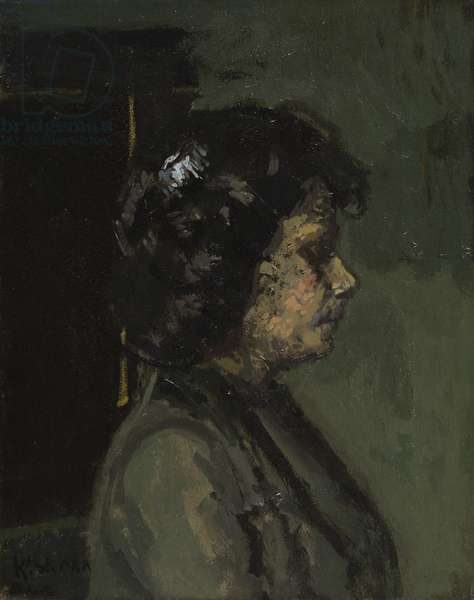 Portrait of Mrs Barrett, 1906 (oil on canvas)