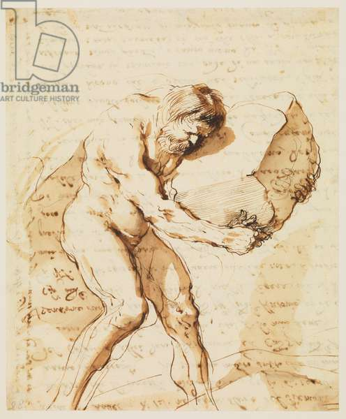 Sisyphus (recto), 1636 (pen & ink on paper) [see also 5934410]