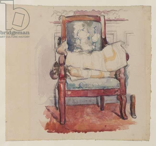 Armchair, 1885-90 (pencil, w/c & gouache on paper)