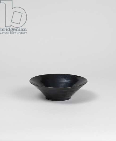 Black-glazed bowl, 1913-19 (black-glazed earthenware) [see 5948441]