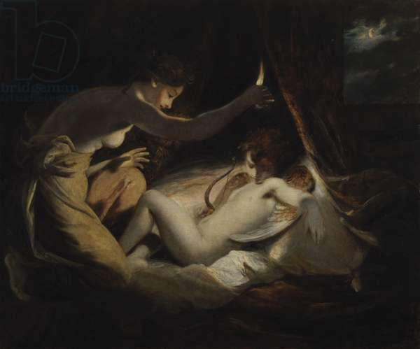 Cupid and Psyche, c.1789 (oil on canvas)