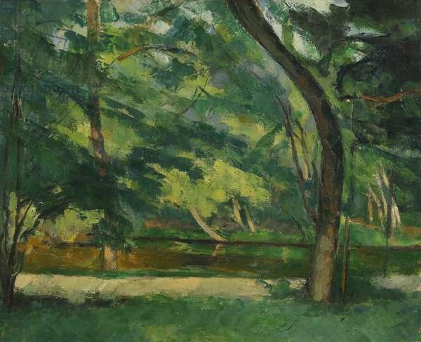 The Etang des Soeurs, Osny, near Pontoise, c.1875 (oil on canvas)