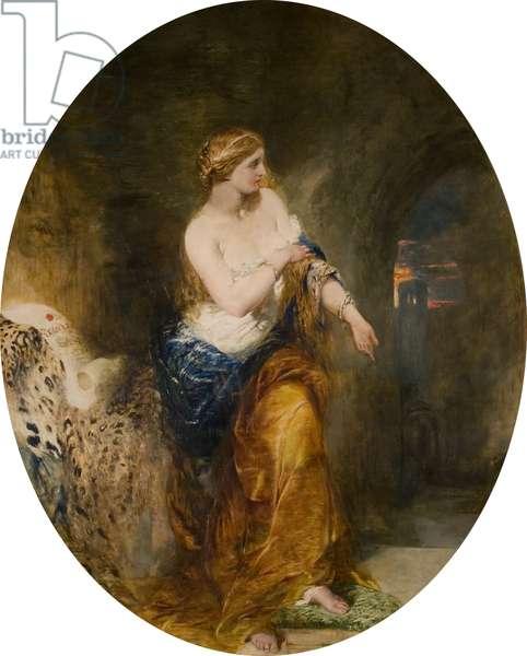 Lady Godiva, 1856 (oil on canvas)