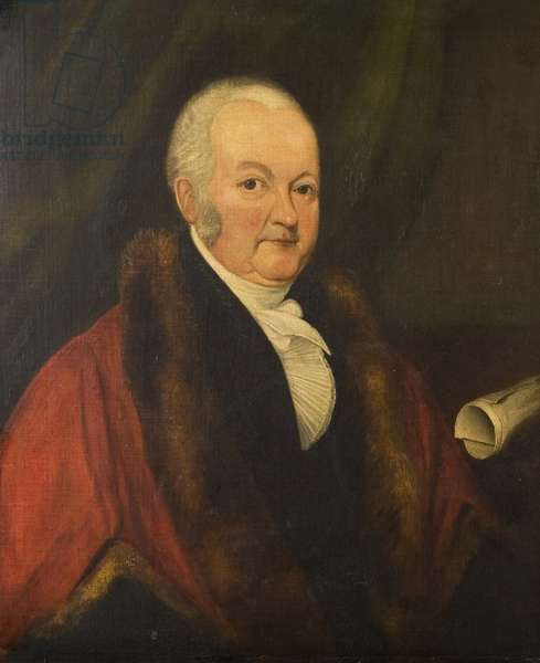 Sir Skears Rew, Mayor of Coventry 1815 (c.1761–1828), c.1822 (oil on canvas)