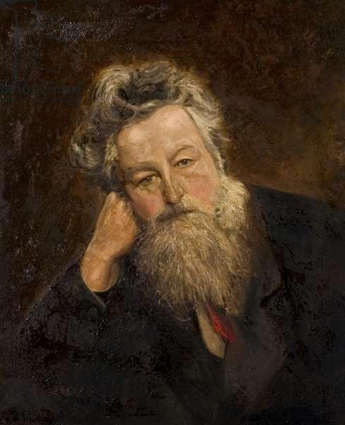 William Morris, 1905 (oil on canvas)