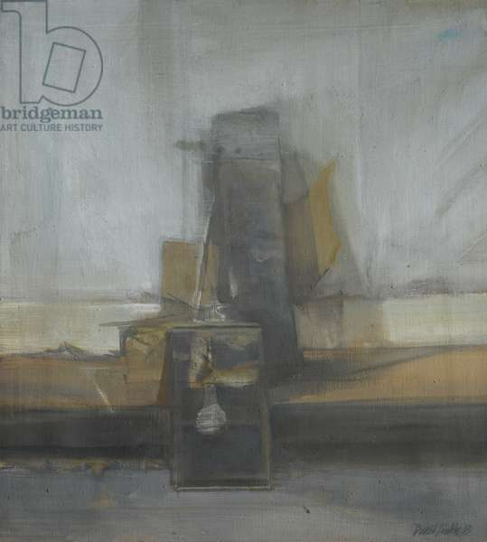 Still Life with Mirror, 1963 (oil on canvas)