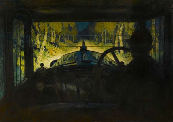 The Enchanted Road, c.1928 (oil on canvas)