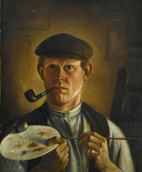 Self Portrait, early 20th century (oil on canvas)