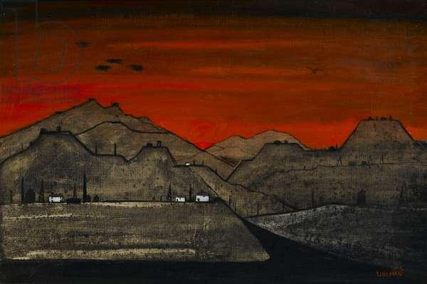 The Slate Mines, mid-20th century (oil on canvas)