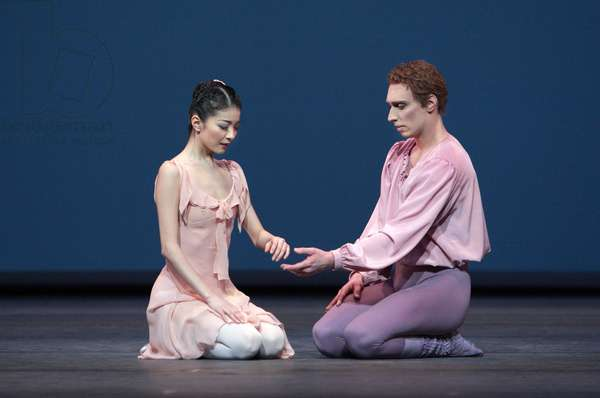 Yuhui Choe and Bennet Gartside in 'Dances at a Gathering', Royal Opera House, London, 9th March 2009 (photo)