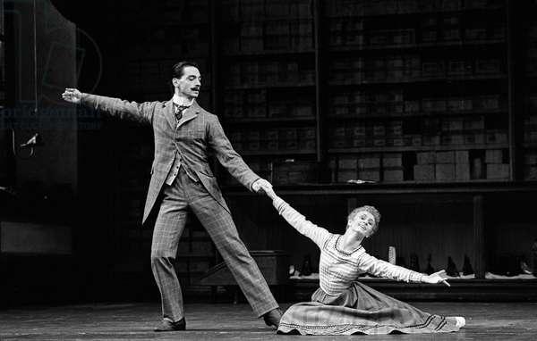 Sadler's Wells Royal Ballet in 'Hobson's Choice' (b/w photo)