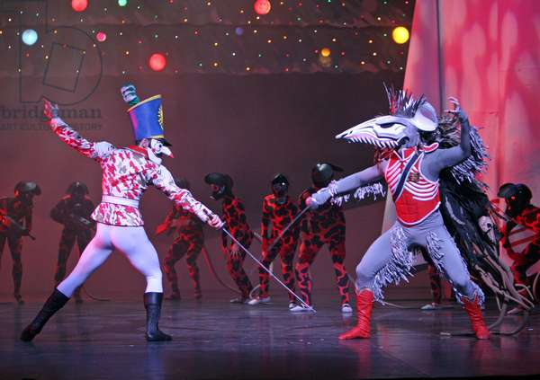 English National Ballet in Christopher Hampson's 'The Nutcracker' with designs by Gerald Scarfe (photo)