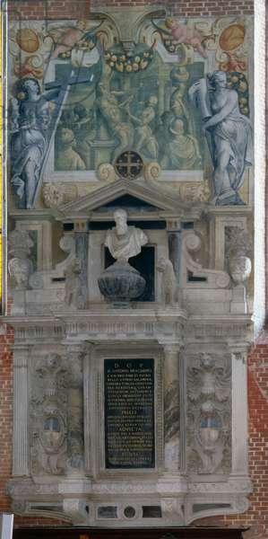 Monument to Marcantonio Bragadin, Chiesa dei Santi Giovanni e Paolo, Venice, Italy (photo)