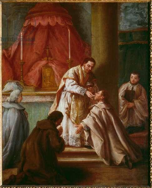 Eucharist (oil on canvas)
