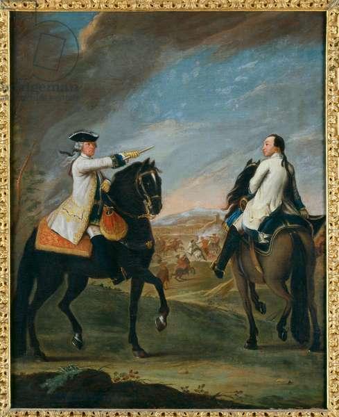 Portrait of Guglielmo di Monfort, 1750 (oil on canvas)