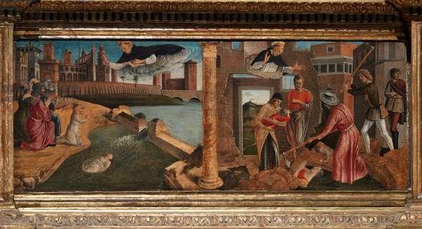 Polyptych of San Vincenzo Ferreri, 1464-70 (tempera on canvas)
