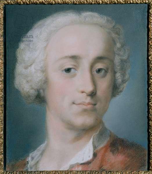 Portrait of Giambattista Sartori, 1737 (pastel on paper)